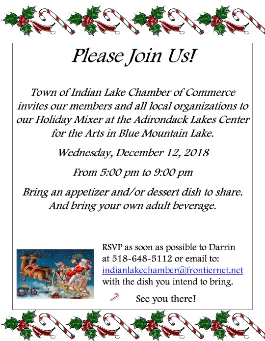 2018 ILCC holiday flyer